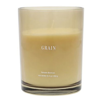 House Doctor Scented candle Grain Brown Burning time: 52 hours