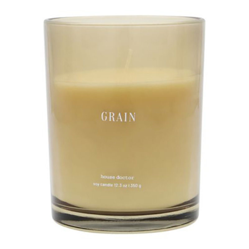 House Doctor-collectie House Doctor  Scented candle Grain Brown Burning time: 52 hours