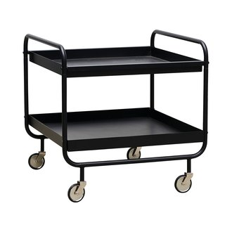 House Doctor Trolley, Roll, Black