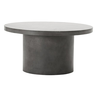 House Doctor Table Stone Grey h: 45 cm dia: 90 cm
