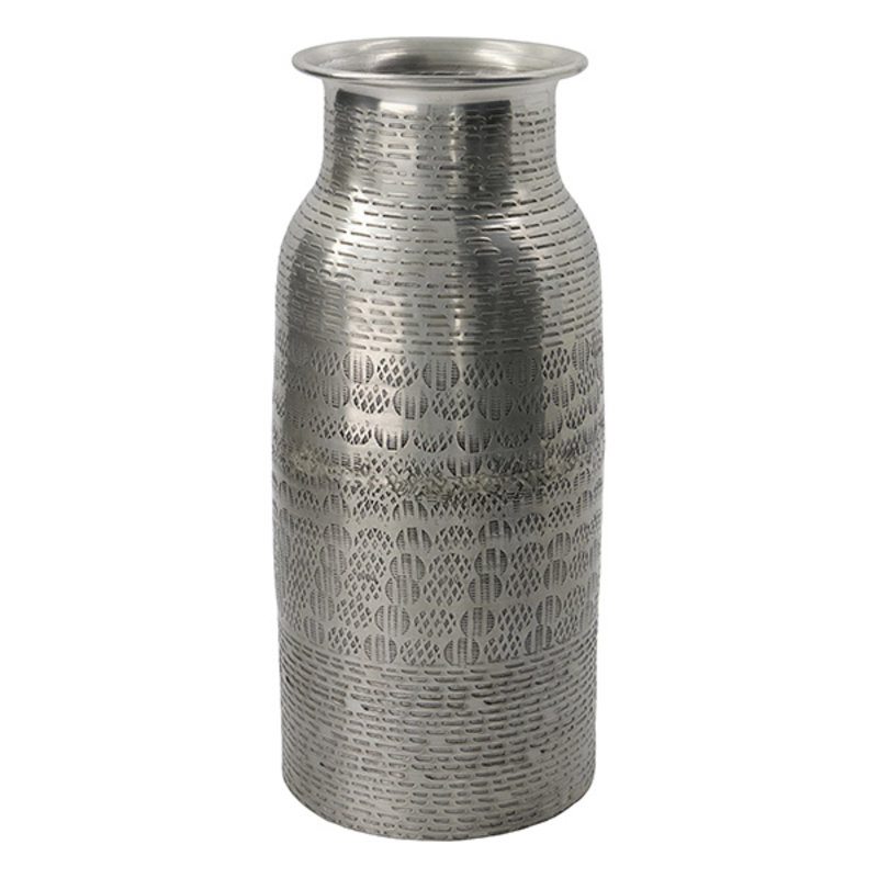 House Doctor-collectie House Doctor  Vase Fenja Antique silver Handmade Finish/Colour/Size may vary