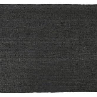 House Doctor Vloerkleed Hempi zwart 250x250