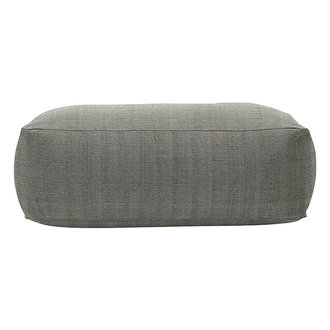 House Doctor Pouf Tabi Grey Finish/Colour may vary l: 120 cm w: 60 cm h: 40 cm