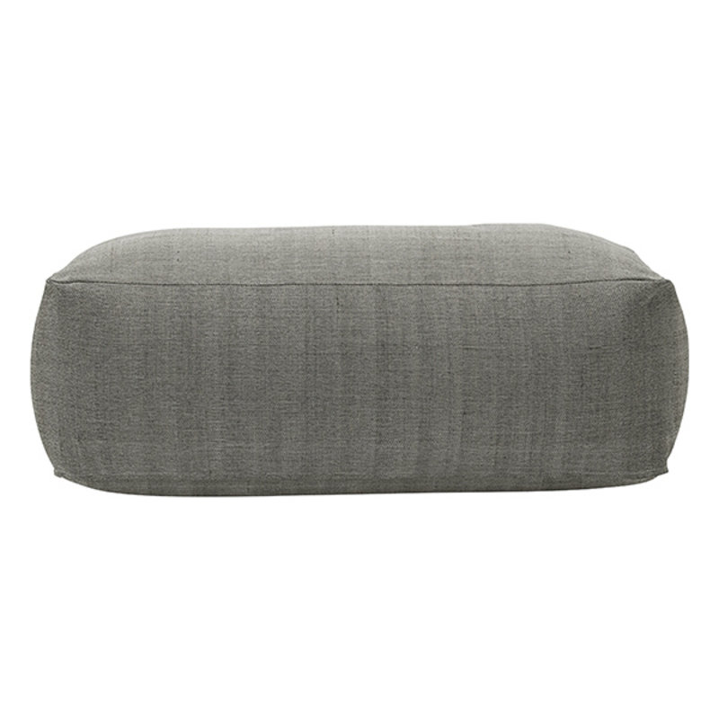 House Doctor-collectie House Doctor  Pouf Tabi Grey Finish/Colour may vary l: 120 cm w: 60 cm h: 40 cm