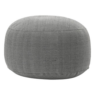 House Doctor Pouf Tabi Brown Finish/Colour may vary h: 40 cm dia: 80 cm