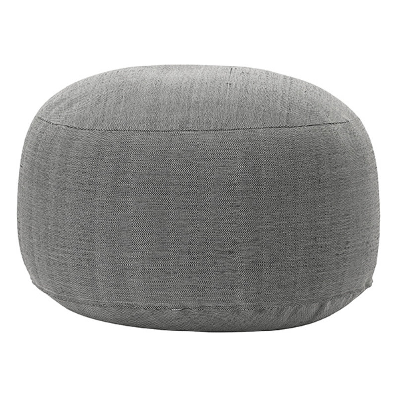 House Doctor-collectie House Doctor  Pouf Tabi Brown Finish/Colour may vary h: 40 cm dia: 80 cm