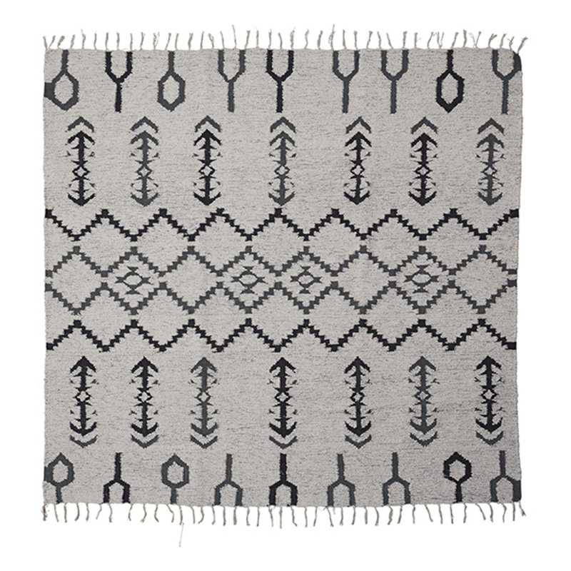 House Doctor-collectie House Doctor  Rug Arte Off-White Finish/Colour/Size may vary Handmade  180 x 180