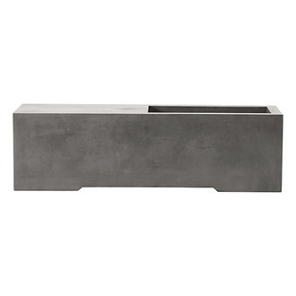 House Doctor Bench Lets Grey l: 130 cm w: 40 cm h: 38 cm
