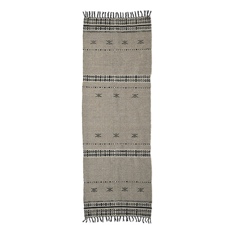 House Doctor-collectie House Doctor  Rug Cros Sand Finish/Colour/Size may vary Handmade  300 x 90