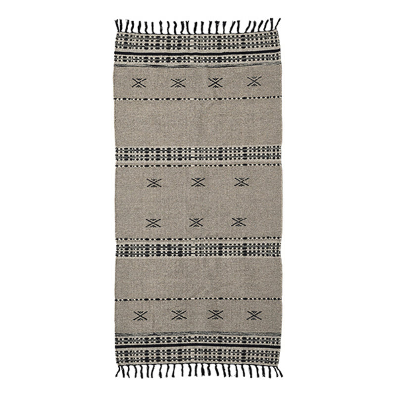 House Doctor-collectie House Doctor  Rug Cros Sand Finish/Colour/Size may vary Handmade  200 x 90