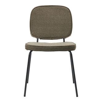 House Doctor Chair Carma Dark sand Seat height: 47 cm