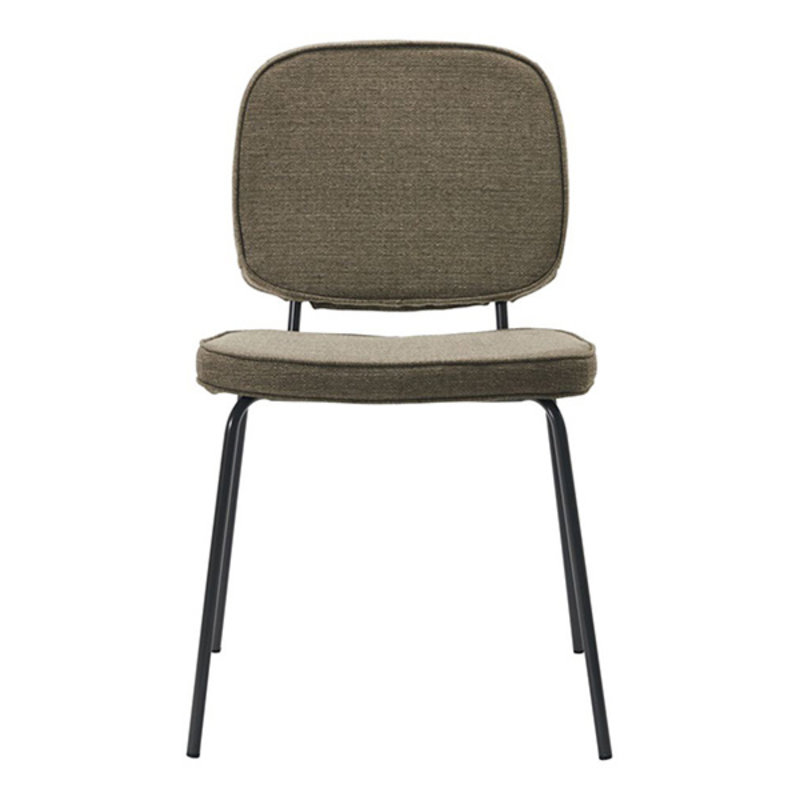 House Doctor-collectie House Doctor  Chair Carma Dark sand Seat height: 47 cm