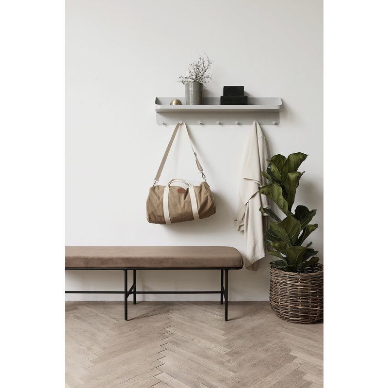 House Doctor-collectie Bench COMMA brown
