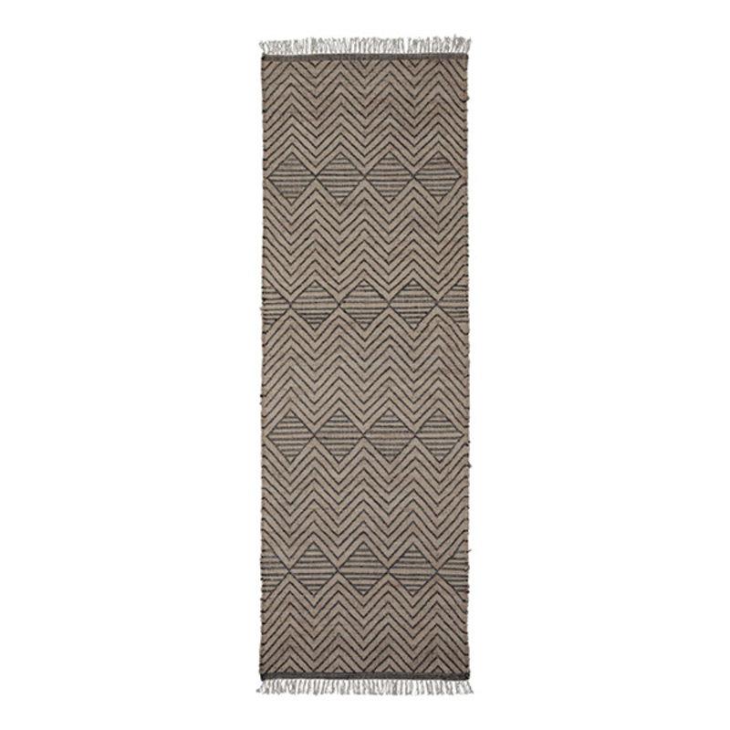 House Doctor-collectie Vloerkleed Ranjar bruin 300x90