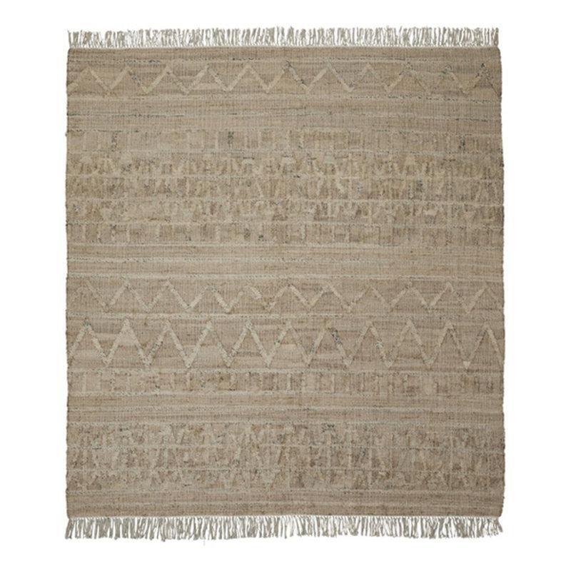 House Doctor-collectie House Doctor  Rug Shriv Sand Handmade  250 x 250