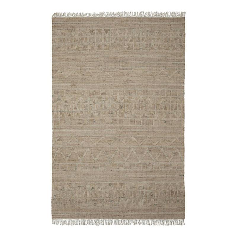 House Doctor-collectie Vloerkleed Shriv zand 300x200