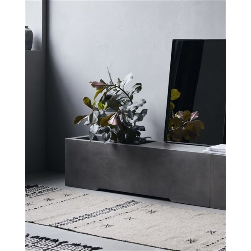 House Doctor-collectie House Doctor  Bench Lets Grey l: 130 cm w: 40 cm h: 38 cm