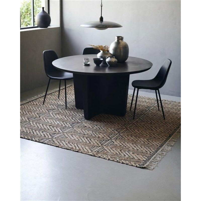 House Doctor-collectie Vloerkleed Ranjar bruin 250x250