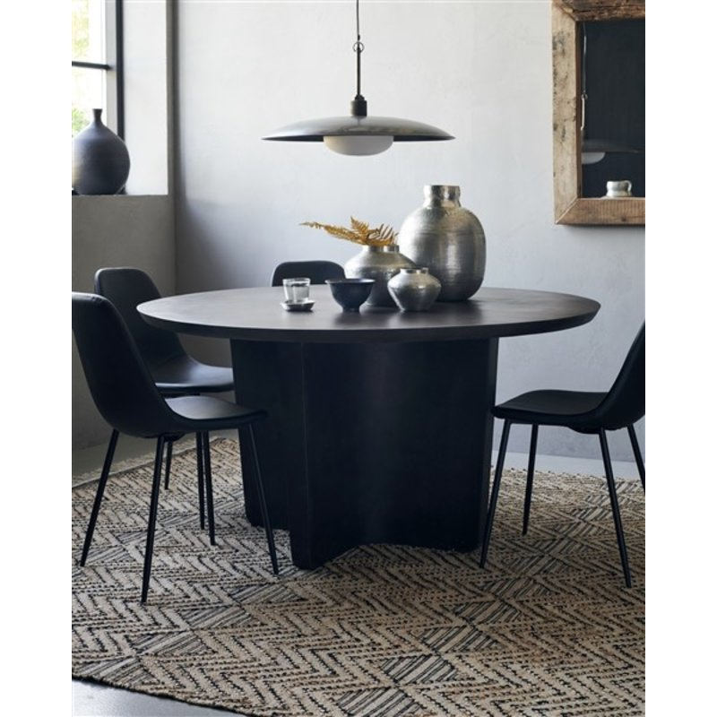 House Doctor-collectie House Doctor  Table Simple Antique grey h: 75 cm dia: 140 cm