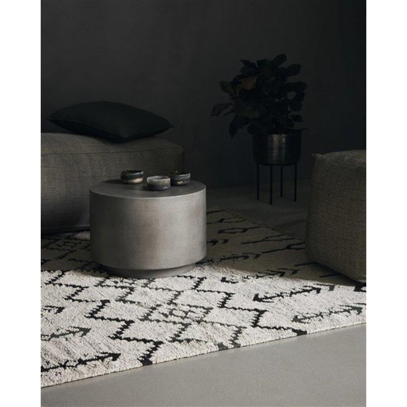 House Doctor-collectie Vloerkleed Arte Off white 180x180