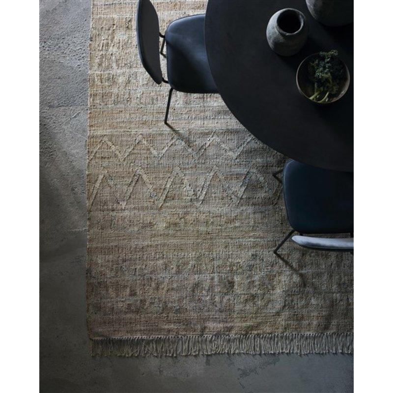 House Doctor-collectie Vloerkleed Shriv zand 250x250
