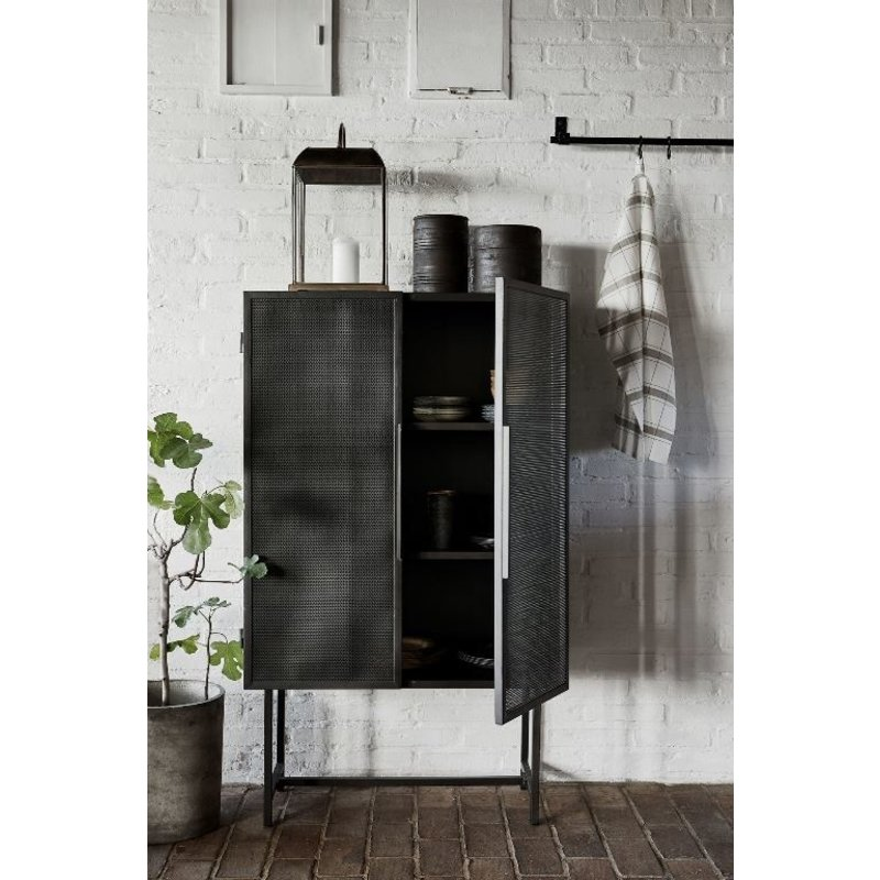 House Doctor-collectie Cabinet Collect, Desk, Iron 80x38x135 cm