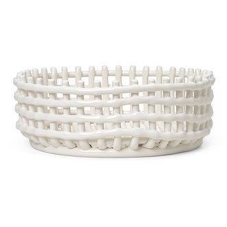 ferm LIVING Ceramic Centrepiece - Off-white