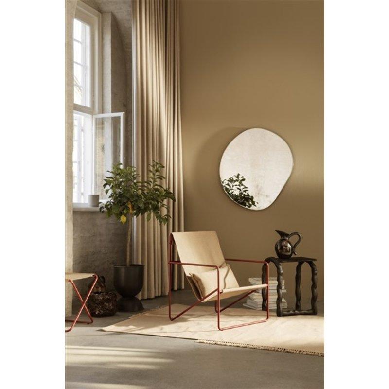 ferm LIVING-collectie Desert Chair - rood/zand