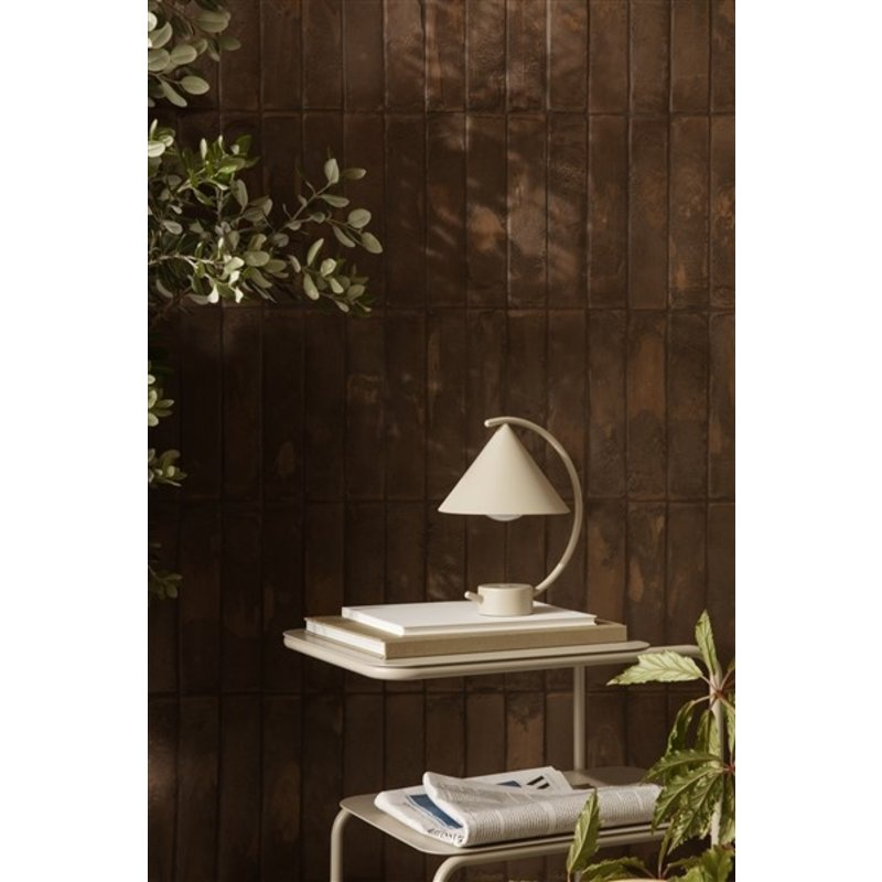 ferm LIVING-collectie Tafellamp Meridian cashmere