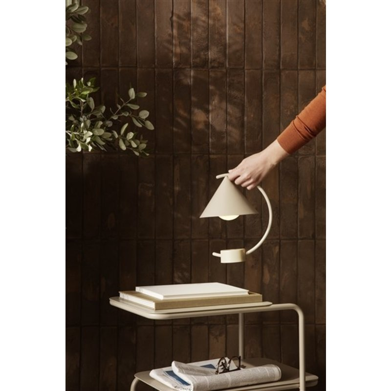 ferm LIVING-collectie Meridian Lamp - Cashmere