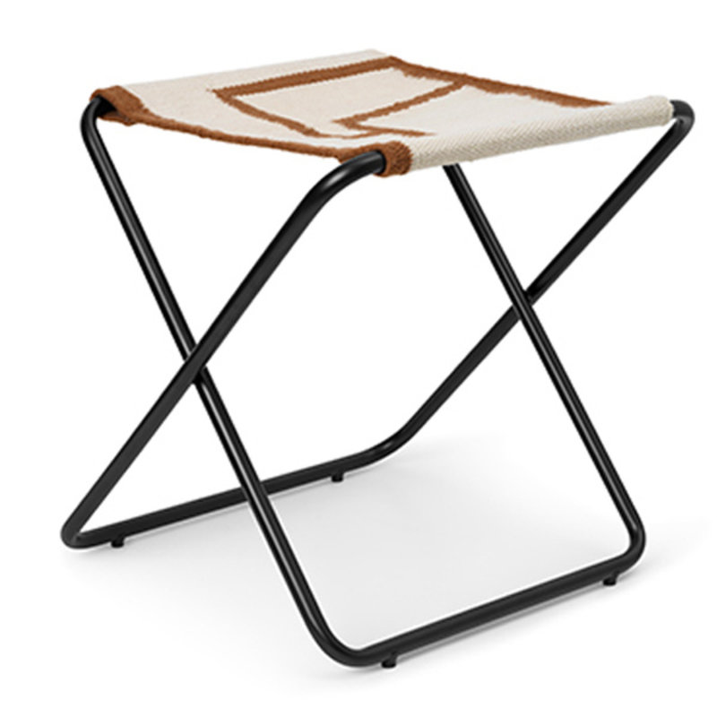 ferm LIVING-collectie Desert Stool - Black/Shape