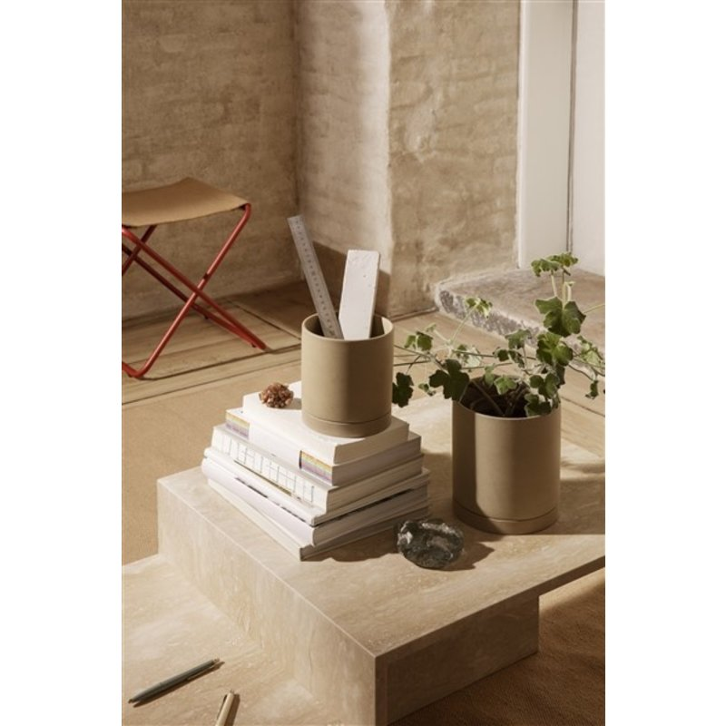 ferm LIVING-collectie Sekki Pot - Medium - Sand