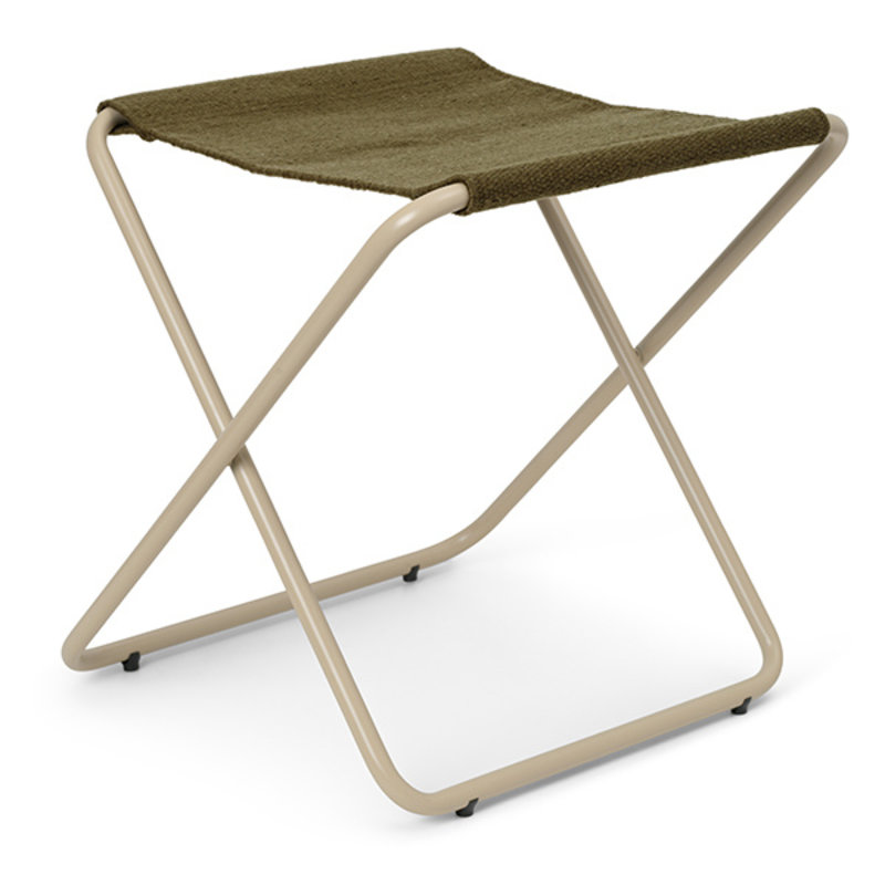 ferm LIVING-collectie Desert Stool - Cashmere/Olive