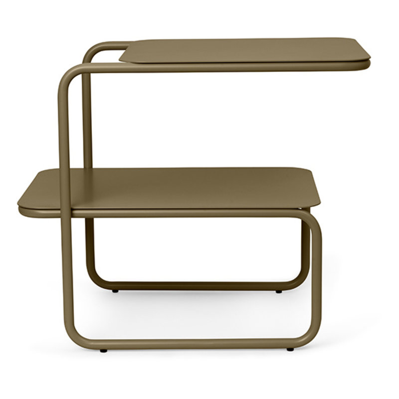 ferm LIVING-collectie Level Side Table - Olive