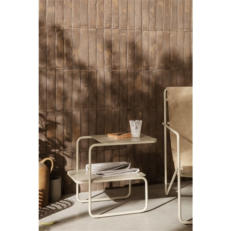 ferm LIVING-collectie Level Side Table - Cashmere