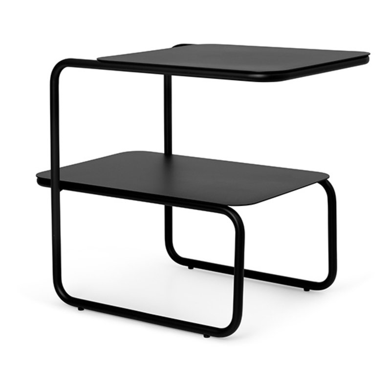 ferm LIVING-collectie Level Side Table - Black