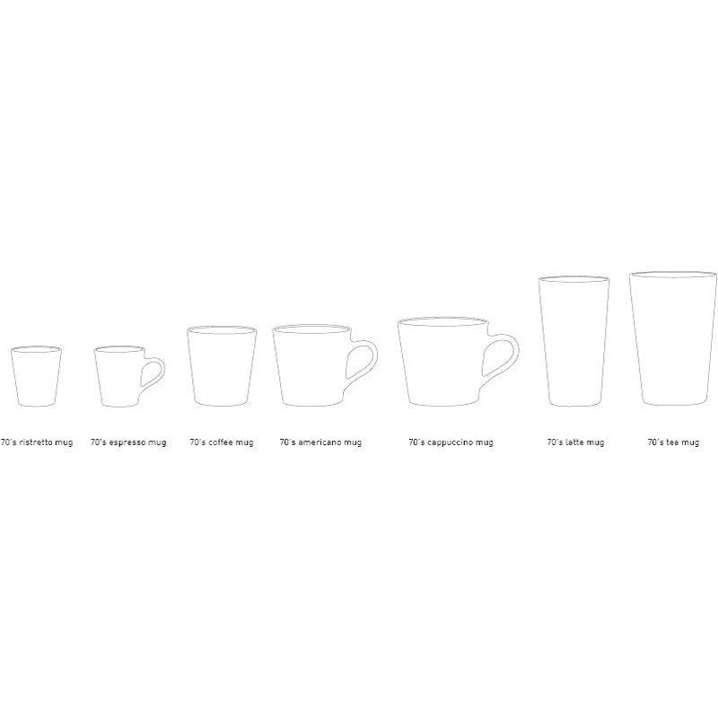 HKliving-collectie 70s ceramics: tea mug, venus