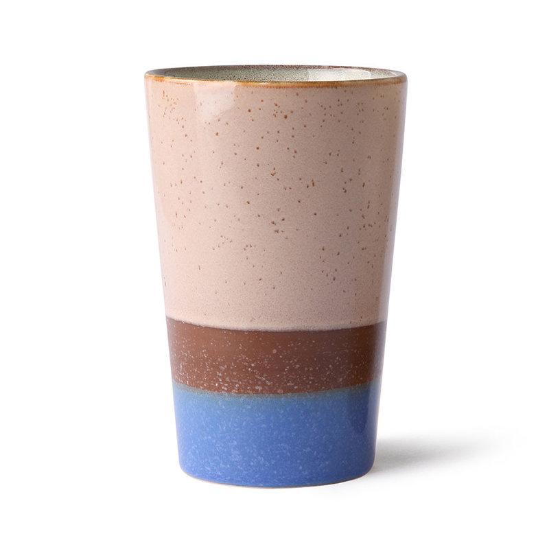 HKliving-collectie 70s ceramics: tea mug, sky