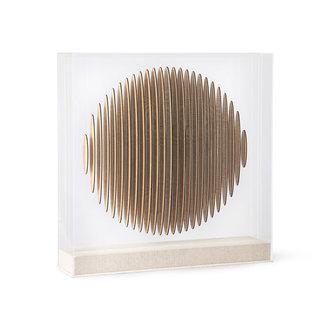 HKliving Houten cirkel art frame