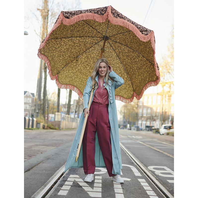 HKliving-collectie DORIS for HKLIVING: beach umbrella vintage floral