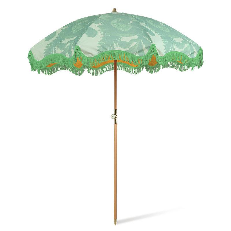 HKliving-collectie Strand parasol floral pistachio