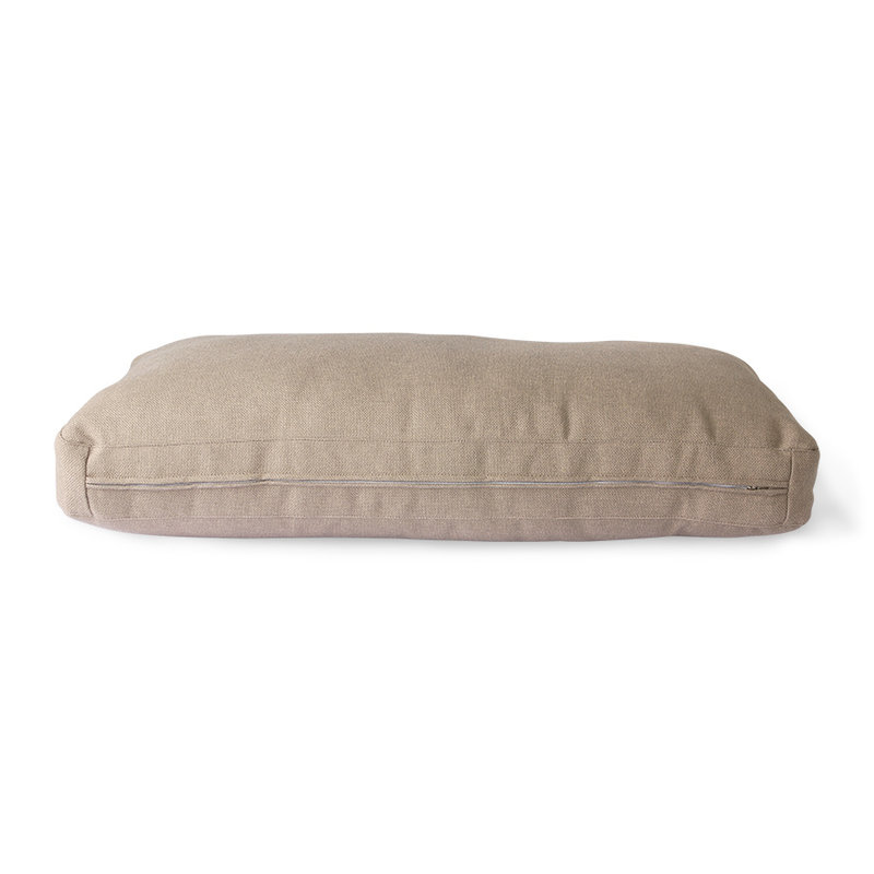 HKliving-collectie outdoor lounge sofa cushion set brown (UKFR)