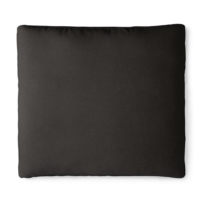 HKliving-collectie outdoor lounge sofa cushion set black