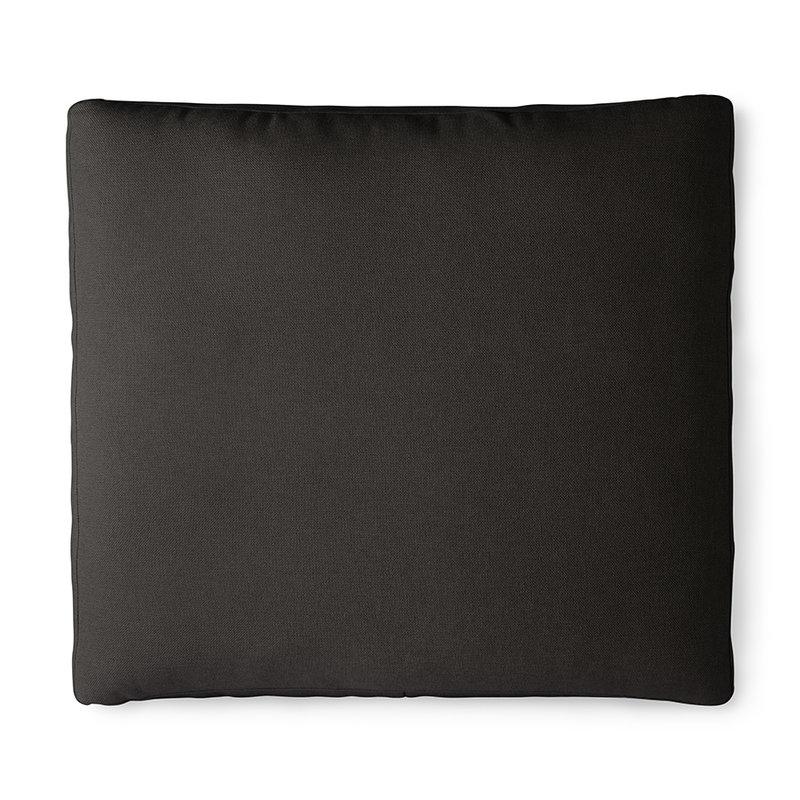 HKliving-collectie Outdoor lounge sofa kussenset zwart