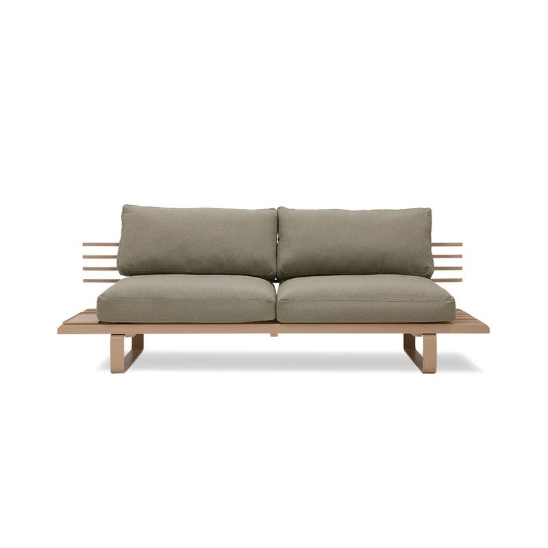 HKliving-collectie Aluminium outdoor lounge sofa chai