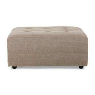 HKliving vint couch: element hocker, linen blend, taupe