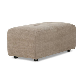 HKliving vint couch: element hocker small, linen blend, taupe