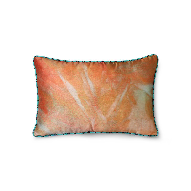 HKliving-collectie DORIS for HKLIVING: printed satin cushion glitter (25x40)