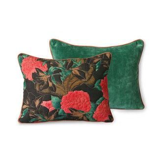 HKliving DORIS for HKLIVING: stitched cushion floral (30x40)