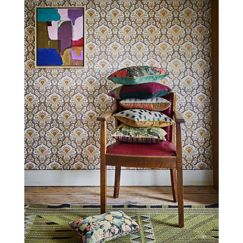 HKliving-collectie DORIS for HKLIVING: gestikt kussen floral (30x40)